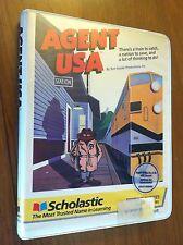 Agent USA by Scholastic for Apple II+,IIe,IIc,IIgs 1984