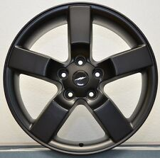 "4) 20"" Ford Lightning Expedition Wheels Rims Set 1997 - 2004 F150 Satin Black"