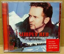 Simply Red Love & The Russian Winter Rare 1999 Malaysia CD FCB1751