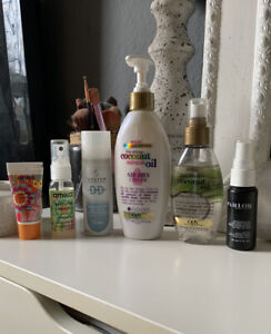 Hair Care & Styling Bundle x6 Inc OGX Coconut Oil, Amika, System Professional