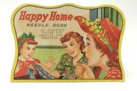 Vintage Made In Japan Happy Home Needle Book E532