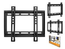 """STAFFA TV PARETE STAFFA per LCD LED 23"""" - 42"""" POLLICI VESA 200 x 200"""