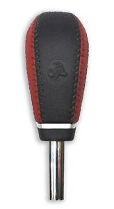 Genuine Holden VE WM Auto Leather Shifter Gear Knob Black/Red- Commodore Caprice
