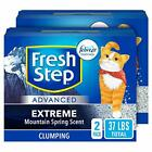 Advanced Clumping Cat Litter with Odor Control - 37lb - Advanced Extreme Scent