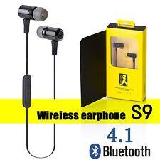 S9 Bluetooth 4.1 Wireless Stereo Earphone Earbuds Sport Headset Headphone Sports