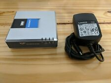 Linksys Cisco SPA3102 Voice Gateway Phone Adapter with Router