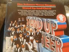 """Johnny Mann Singers """"Stand Up And Cheer"""" LP"""