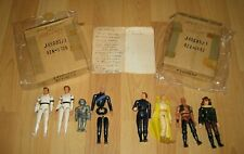 8 Vintage BUCK ROGERS In The 25th Century Action Figures!