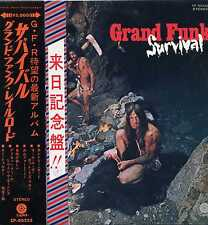 "GRAND FUNK ""SURVIVAL"" ORIG JAPAN 1971 OBI/INSERT"