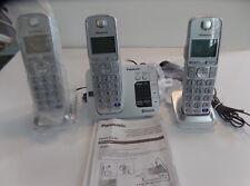 Genuine Panasonic (Kx-Tge260) Cordless Phone With Bluetooth Answering System