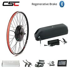 Electric Bike Conversion Kit Battery 48V 1500W  Motor Hub Wheel