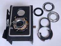ZEISS Ikon IKOFLEX Frame Body Shutter Assembly Vintage TLR Film Camera Parts