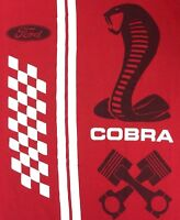 Ford Performance T-Shirt Cobra Snake Official Licensed Red Logo Graphic Size M
