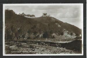 Postcard : Dufftown Banffshire, Auchindoun Castle, a real photo