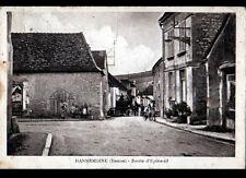 DANNEMOINE (89) PRESSOIR pour vin AMBULANT animé , Route d'EPINEUIL en 1932