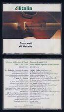 Alitalia CONCERTI DI NATALE 1986-1988-1989 1990 Dualpack - cda322