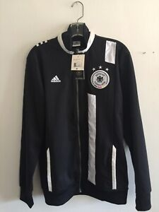 Adidas Germany Track Top 2012 Black White Size M Men's Only