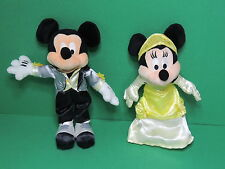 Mickey & Minnie tenues de soirée Peluche Disneyland Paris Disney soft toy plush