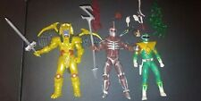 Power Rangers Mighty Morphan Lightning Colection Lot Green Lord Zedd Goldar