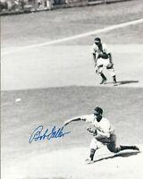 Autographed 8X10 Bob Feller Cleveland Indians photo - w/COA