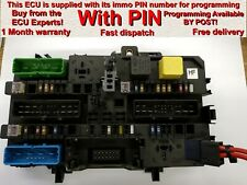 Vauxhall Opel Astra H REC Rear Fusebox 13206758 HF *With pin* OR 'Plug & Play'