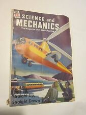 1946 Science and Mechanics magazine June issue Helicopter on cover