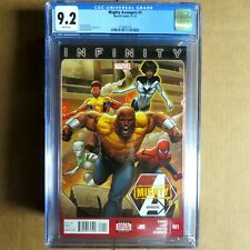 MIGHTY AVENGERS #1 2013 CGC Graded 9.2 Marvel Comics IN STOCK