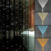 Beaded String Curtain Door Beads Tassel Screen Panel Home Decor Divider Window