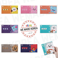 BT21 Character Baby Sticky Memo Pad 30+30 Sheets 7types Authentic K-POP Goods