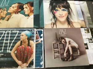 ZAZ [4 LP Vinyl] Effet Miroir + Paris + Recto Verso + ZAZ