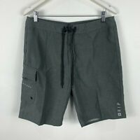Rip Curl Mens Board Shorts 32 Grey Drawstring Swim Aussie Summer