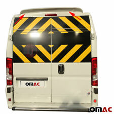 Fits RAM PROMASTER FIAT DUCATO Rear Spoiler Wing Primed Unpainted Top Styling