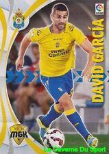 276 DAVID GARCIA ESPANA UD.LAS PALMAS CARD MEGACRACKS 2016 PANINI