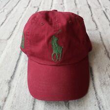 Polo Ralph Lauren Big Pony Leather Strapback Hat Cap
