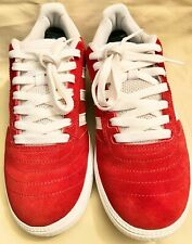 Adidas Skateboarding 'Busenitz' 2017 Red/White Suede Size 7 Youth/Mens