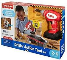 Fisher-Price Drillin' Action Tool Set new ages 24 months-6 years