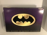 """1996 THE HISTORY OF BATMAN COLLECTION Kenner 3 12"""" Action Figures MIB"""