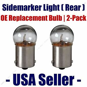 Sidemarker (Rear) Light Bulb 2pk - Fits Listed Freightliner Vehicles - 5007