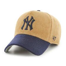 MLB New York Yankees Casquette Basecap de Baseball MVP Cord Kaki Tt 194602422244