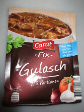 9 x Carat Fix - Gulasch Sauce fresh from Germany New