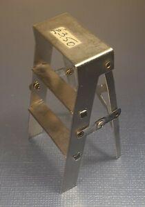 Vintage Miniature Dollshouse Metal Step Ladders