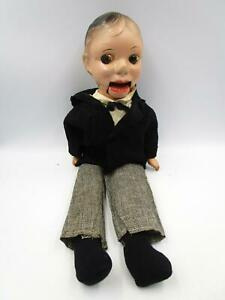 CHARLIE McCARTHY VENTRILOQUIST DOLL 20 in Composition Head & Hands 1930's Puppet