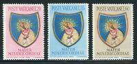 VATICAN CITY MNH: Scott #189-191 End of Marian Year 1954 CV$23+
