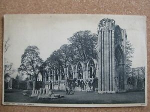 St.Mary's Abbey, York, Yorkshire -posted 1930