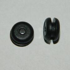 10 St.Kabeldurchführungen 4mm WS 4 (für Bohrloch 6mm) offen Durchführungstülle
