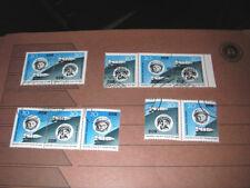 DDR 1963 Wostok MiNr. 970-971 alle 4 Zusammendrucke komplett gestempelt