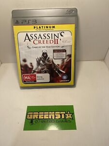 Assassin's Creed 2 Playstation 3 PS3 Game Free And Fast Postage 🇦🇺 Seller