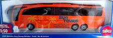 SIKU 1:50 DIE CAST AUTOBUS DA TURISMO MERCEDES BENZ TRAVEGO  SUN TOURS ART 3738