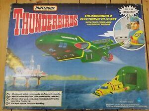 Thunderbird 2 & 4 Matchbox supersize boxed plus pilot sounds