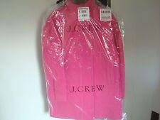 NWT J. Crew Stadium-cloth cocoon coat item B2796 T8 HEATHER SAPPHIRE PINK  $350